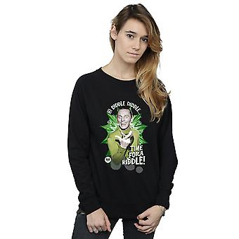 DC Comics Women's Batman TV Series Riddler Time for a Riddle Sweatshirt