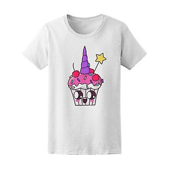 Kawaii Unicorn Cupcake Tee Women's -Image by Shutterstock