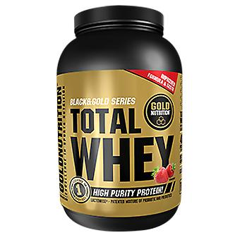 Gold Nutrition Total Whey Fresa 1 kg (Sport , Muscle mass , Proteins)