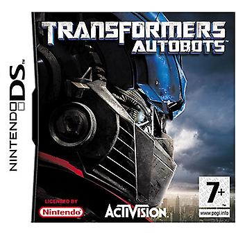 Transformers The Game - Autobots (Nintendo DS)