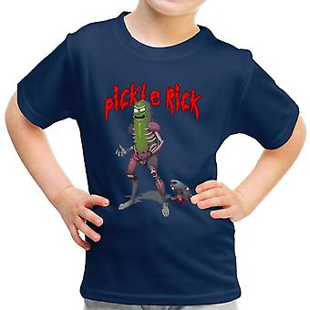 Pickle Ratte Rick und Morty Kid-t-Shirt