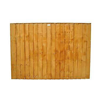 Forest Garden 4ft Featheredge Fence Panel