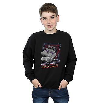 Vincent Trinidad Boys 16 Bit Retro Gaming Sweatshirt