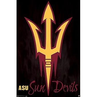 Uniwersytet stanu Arizona Sun Devils 13 Wydrukuj plakat