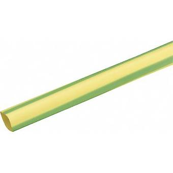 DSG Canusa 3210095613 Heatshrink w/o adhesive Green-yellow 9.50 mm Shrinkage:3:1 Sold by the metre