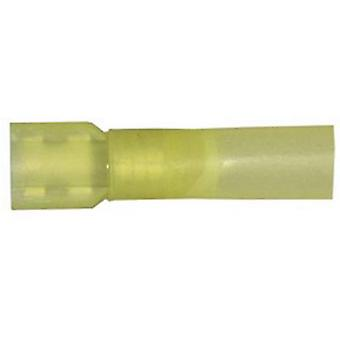 Vogt Verbindungstechnik 3967sh Blade receptacle Connector width: 6.3 mm Connector thickness: 0.8 mm Insulated Yellow 1