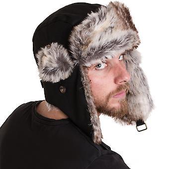 Outdoor Look Mens Aberfeldy Trapper Cossack Fleece Lined Hat