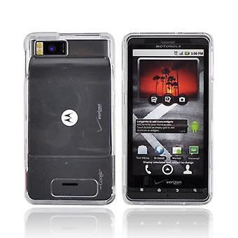 OEM Verizon Snap-On geval voor Motorola Droid X MB810 (doorzichtig) (Bulk verpakking)