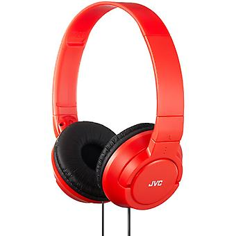 JVC HAS180/W Lightweight Seamless Design On-Ear Deep Bass Headphone/Earphone