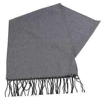 Knightsbridge Neckwear Plain Wool Scarf - Grey