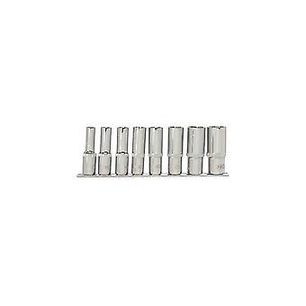 Neo-Tools Socket set 8dlg 1/2 Anschluss 12 Seiten lang