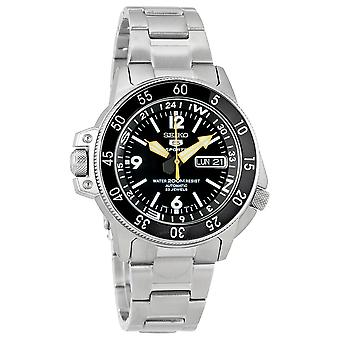 Seiko 5 Sport Land Shark Automatic Stainless Steel Mens Watch SKZ211K1