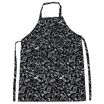 PATTERNED CHEF APRON