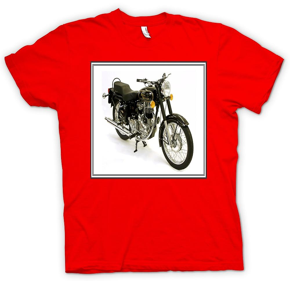 Mens T-shirt - Royal Enfield Bullet - Classic Bike