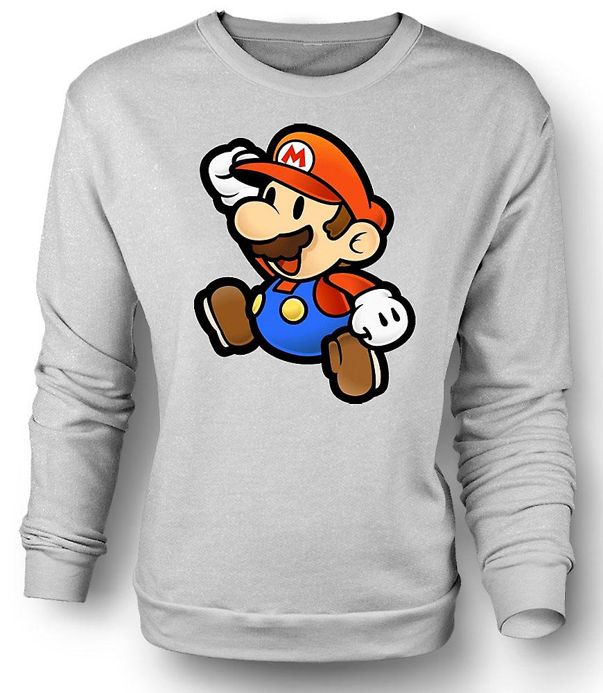 Mens Sweatshirt Super Mario - Gamer