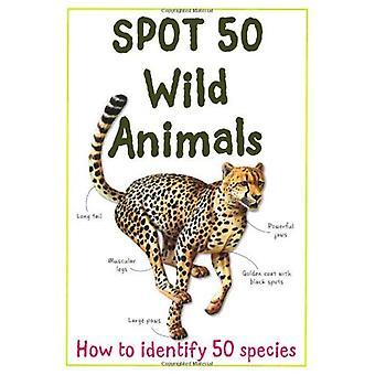 Spot 50 animaux sauvages (grande tache 50 série)