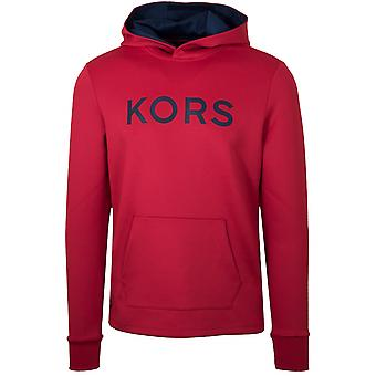 Michael Kors  Michael Kors Red Polyester Hooded Sweatshirt