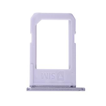 Grey SIM Card Tray For Samsung Galaxy S6 Edge Plus