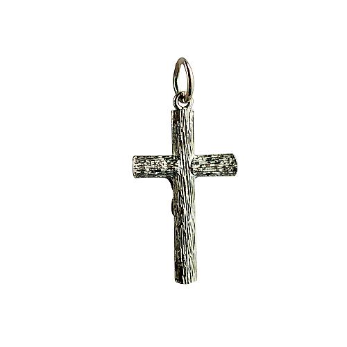 9ct Gold 23x15mm Crucifix Cross