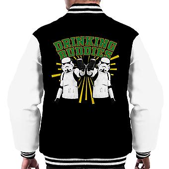 Original Stormtrooper Drinking Buddies Men's Varsity Jacket