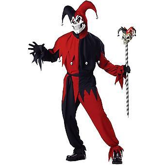 Böse Hofnarr Erwachsenen Kostüm
