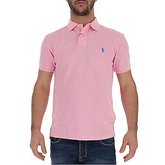Ralph Lauren Pink Cotton Polo Shirt