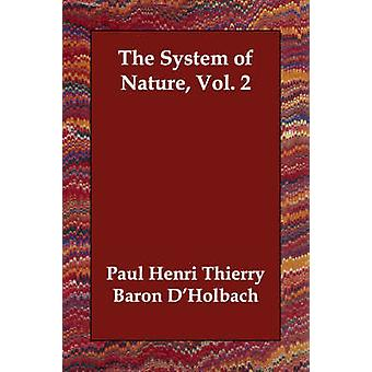 System af Nature Vol. 2 ved DHolbach & Paul Henri Thierry Baron