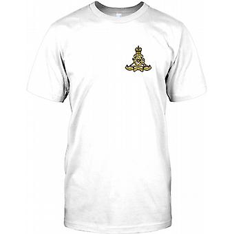 Armée britannique Royal Artillery - Ubique - Chest Logo T Shirt