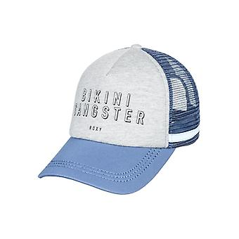 Roxy Womens Dig This Snapback Trucker Hat - Heritage Heather Gray