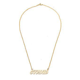 Heron Preston Gold Brass Necklace