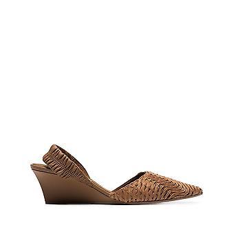 Stella Mccartney Brown Leather Sandals