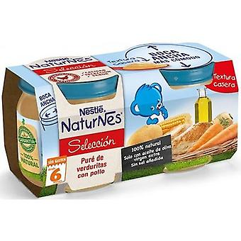 Nestlé Pureed Vegetables with Chicken 2x200 gr (Childhood , Food , Pots)