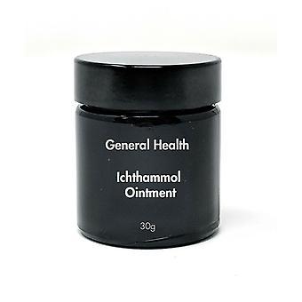 Salud general 25% Ichthammol ungüento tina-30g