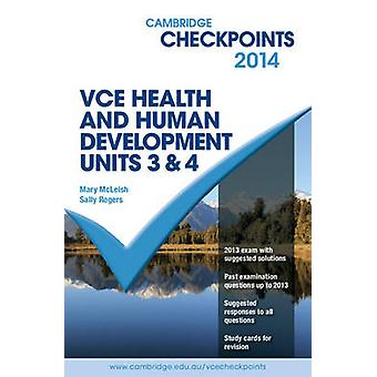 Cambridge Checkpoints VCE Health and Human Development Units 3 and 4