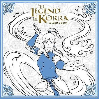 The Legend of Korra Coloring Book by Nickelodeon - 9781506702469 Book