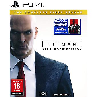 Hitman The Complete First Season Steelbook Edition - Playstation 4