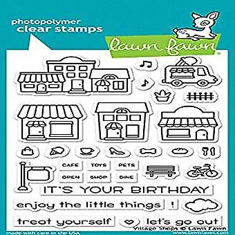 Lawn Fawn Village Shops Clear Stamps (LF1692)