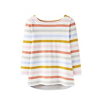 Joules Harbour Womens Jersey Top - Multi Stripe