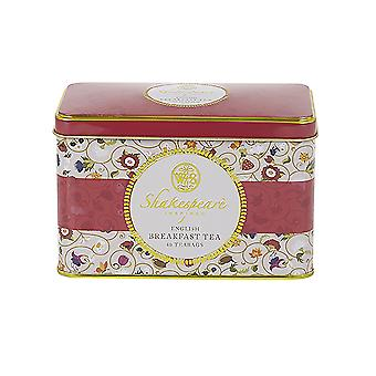 Shakespeare birthplace trust tea tin 40 teabags