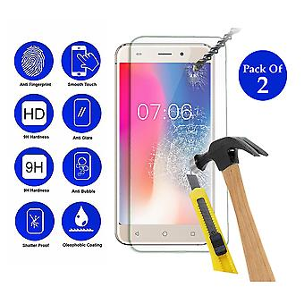 Pack of 2 Tempered Glass Screen Protection For All Call Madrid 5.5