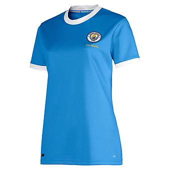 Puma Manchester City 125 anniversaire anniversaire Womens Football Shirt Blue
