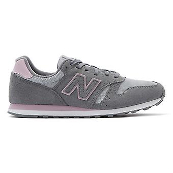 New Balance 373 Womens Grey / Pink Trainers