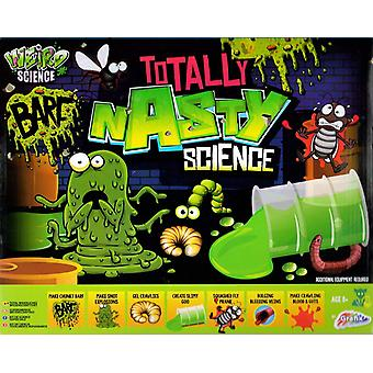 Grafix Totally Nasty Science Activity Experiments Set Childrens Chemistry Learning Pack