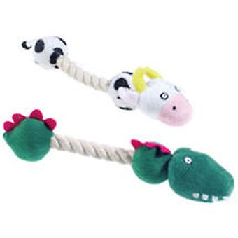 Classic For Pets Rope Tug Animal Asst280mm (Dogs , Toys & Sport , Stuffed Toys)