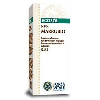 Forza Vitale Sys.marrubio 50Ml. (Herbalist's , Natural extracts)
