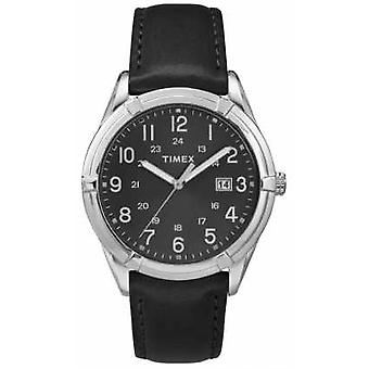 TimexMensEastonAvenueBlackSilverTW2P76700 Watch
