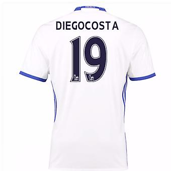 2016-17 Chelsea 3rd Shirt (Diego Costa 19) - Kids