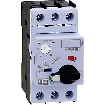 Overload relay adjustable 0.16 A WEG MPW40-3-C016 1 pc(s)