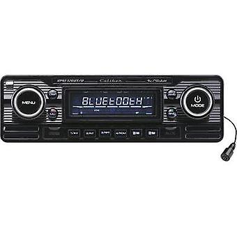 Car stereo Caliber Audio Technology RMD-120BT/B Retro design, Bluetooth handsf