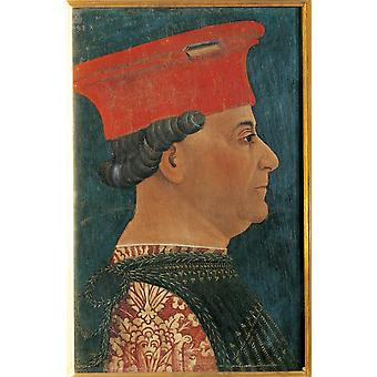 Portrait Of Francesco Sforza Poster Print